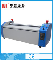 White latex glue manual gluing machine