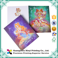 China customized handmade decoration luxury design printing greeting card