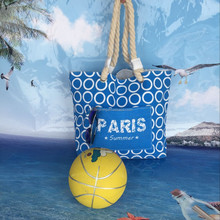 Hot sales canvas beach tote bag for shopping and promotiom,good quality fast delivery