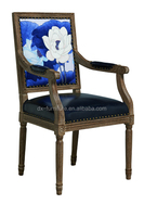 dining chair antique rubber chair oak wood chair