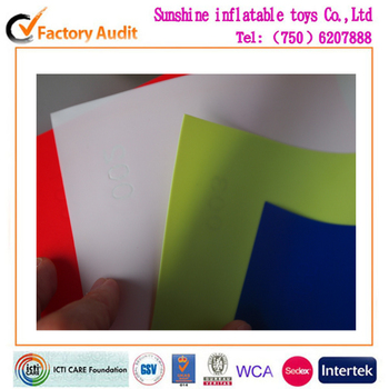 pvc material for inflatable products