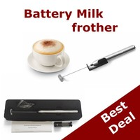 2015 HOT Amazon Milk frother coffee mixer egg mixer Shenzhen factory sale