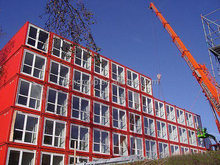 multi storeys container building container house