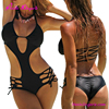 Summer Hot One Piece Ladies Black Sex Underwear High Quality Bikini