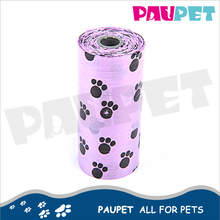 Wholesale pet grooming product cheap portable poop biodegradable dog waste bag dispenser