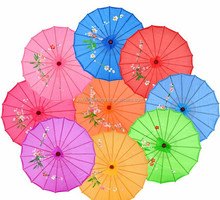 Promotional silk umbrella,craft umbrella,bamboo umbrella SH0066