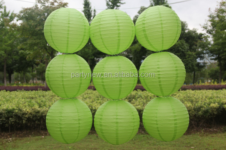 "2017 High quality 10""(25cm) round shape paper <strong>crafts</strong> suppliers Chinese paper lantern paper lamp"
