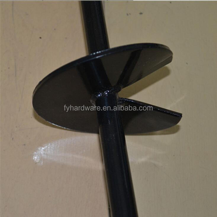 Black Earth Spiral Anchor Ground Stakes for Tents
