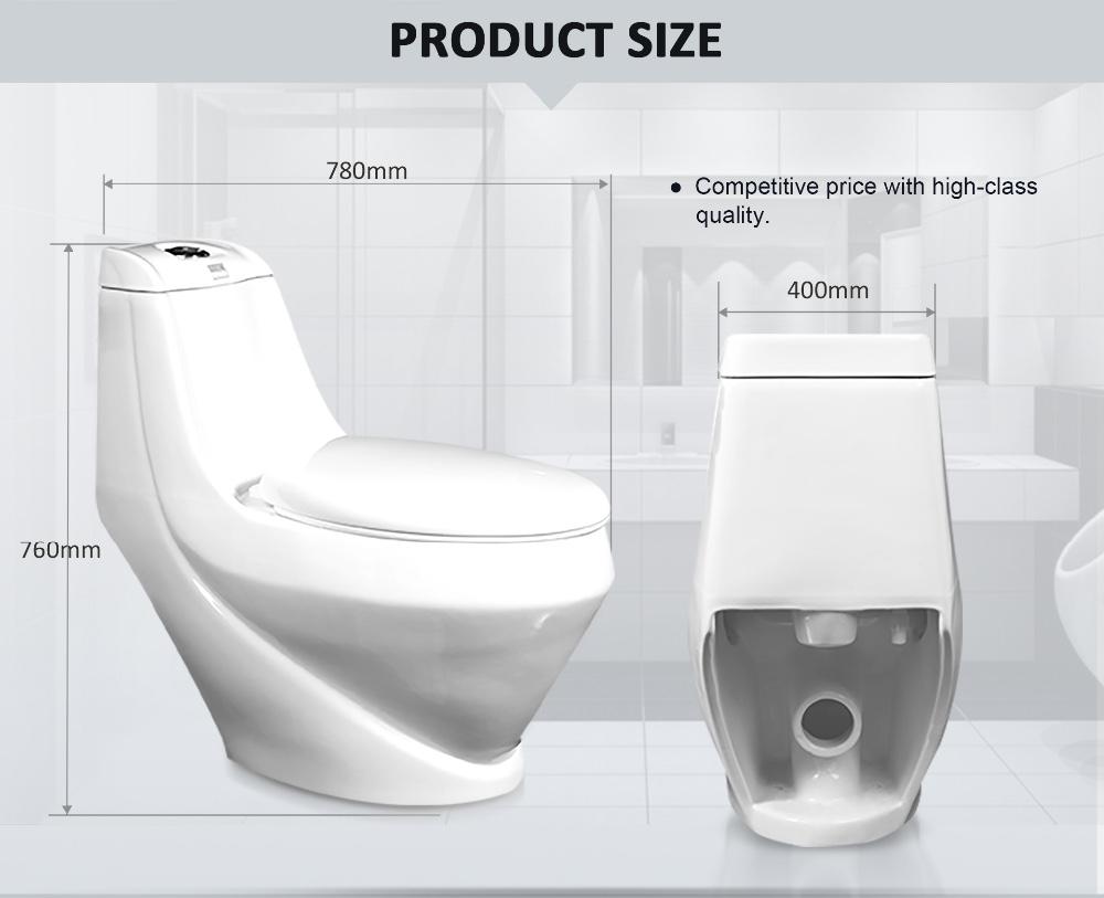 European luxury gravity sanitary ware p-trap water closet wc toilet ...