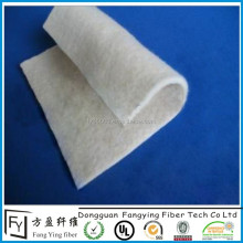 Eco friendly polyester fire retardant felt for mattress