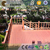 Wood plastic outdoor basketball court flooring