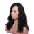 Premier cheap price 18 inch wave Indian remy human hair left side part lace front wig for sale