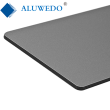 4mm PVDF coating exterior facade wall cladding ACP ACM aluminum plastic composite panel