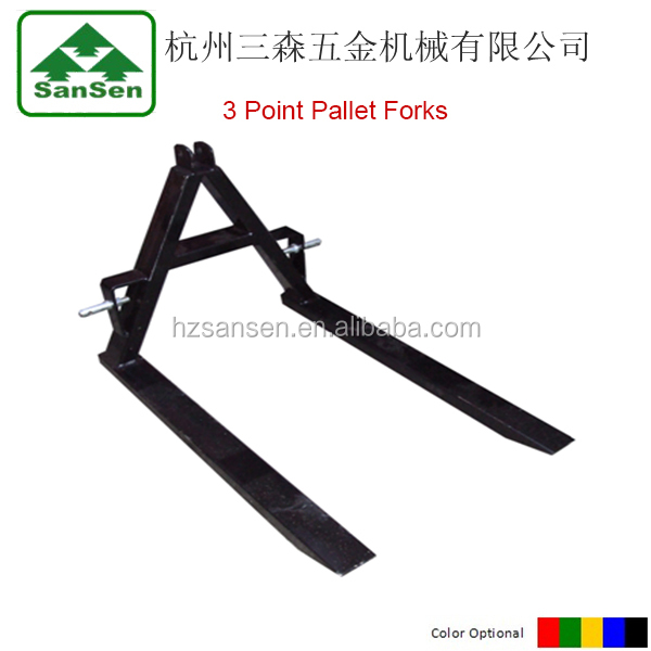 3 point Pallet Forks for Tractors 2000lbs
