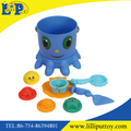 Net bag packing plastic smiling face beach bucket toy