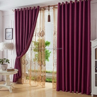 Satin Blackout Fabric for Curtain and Drapery