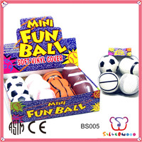 ICTI Factory customized high quality soft kids toy rubber ball