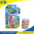 Educational toy arithmetic cylinder cube toy for kids