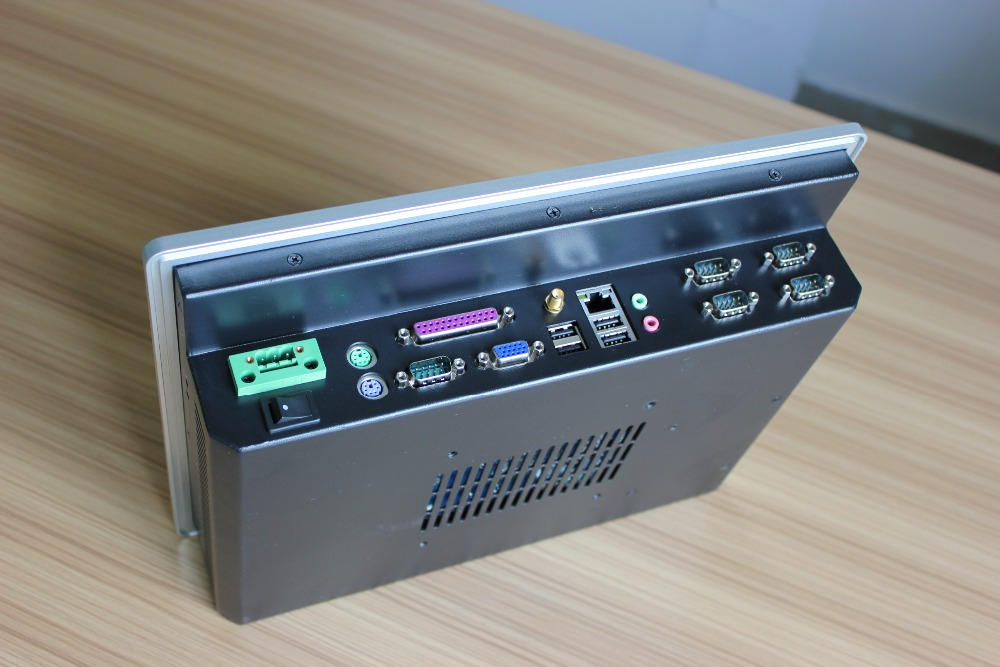 "OEM/ODM fanless embedded 12"" touch screen industrial panel PC"