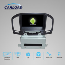 android 4.4 car dvd player with gps for Opel Insignia with gps navigation system wifi 3g