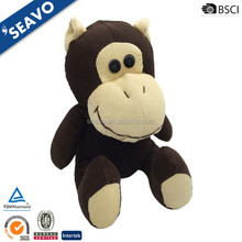 SEAVO 2018 animals series used stuffed custom plush corduroy orangutan toy