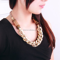 Innovative New Party Trendy Crystal Ladies Necklace Screw Clasp