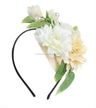 Most popular super quality flower baby girl headband with good offer