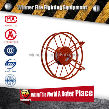 Reliable fire fighting hose reel for fire hose