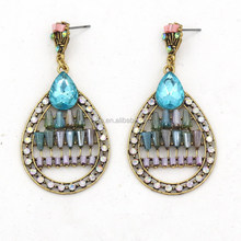 The Last Design Colorful Crystal Earring