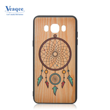 Pattern printed available mobile protective cover acrylic+tpu phone case for samsung galaxy s8 s9