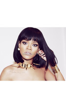 Rihanna Inspired Summer Style Silky Straight Human Hair Full Lace Wigs Celebrity Lace Wigs Bob Wigs With Bangs
