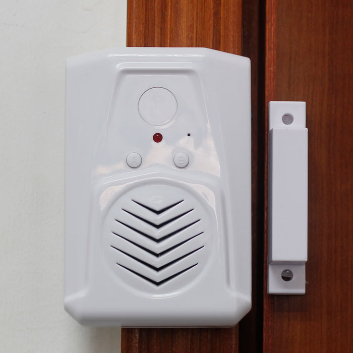 Shop House Visitor Entry Alert Wireless Entry Alarm For Door