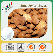 100% natural kernel extraction cGMP HACCP KOSHER FDA certified Amygdalin bitter almond extract bitter apricot seeds extract