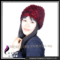 CX-C-53G Women Winter Korean Fashion Children Beret Hat Lady Autumn Thick Warm Hat Fur Hat