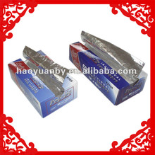 pop-up household aluminium foil for kitchen use wrapper for food packing