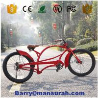 2016 new aluminum wheel made in taiwan recumbent bike bicycle non chopper bicycles