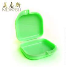 Portable dental box crown for use