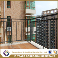 2016 Popular Wrought Iron Balcony Railing