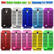 Fashionable Microphone Design Combo Case for samsung galaxy S4/i9500