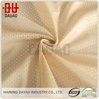 With green environmental and technological innovation polyester mesh lining fabric