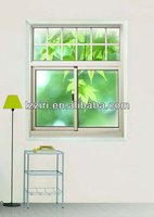 UPVC Double Hung Windows Plastic Vertical Sliding Window Vinyl Window Vertical Sliding Window