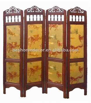 Antique room divider screens from China