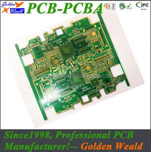 2-4oz low cost turnkey pcb assembly 1 watt aluminum pcb for led