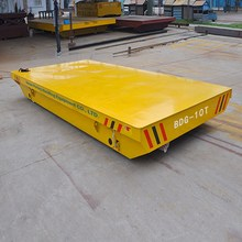 KPX-3 tons electric flatbed rail guided vehicle