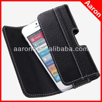 For Apple iPhone 5s 64GB Leather Holster Pouch Case For Apple iPhone 5s 64GB Holster Leather