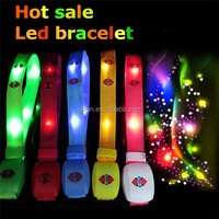 Custom Concert Led Flashing Bracelet Xyloband
