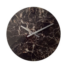 Natural stone marble wall clock for home decor