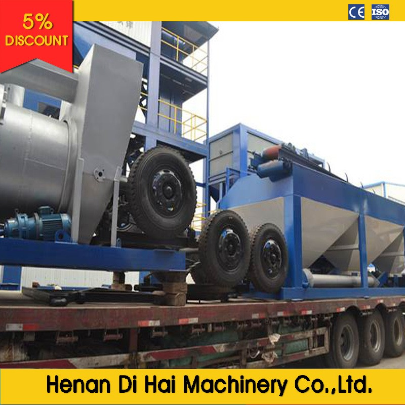 High performance YLB700 60T/H mobile marini asphalt plant for sale by professional manufacture