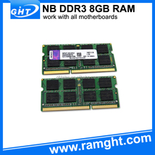 Top selling Shenzhen 512mbx8 laptop ram memory ddr3 8gb