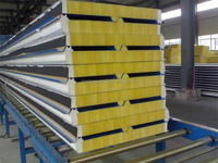 fiberglass sandwich panels/roof fiberglass panel/prefab house panel